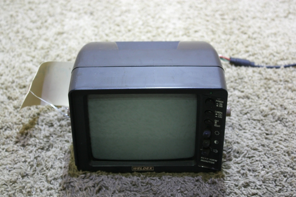 USED WDRV-3007M WELDEX B/W MONITOR WITH AUDIO RV PARTS FOR SALE RV Electronics