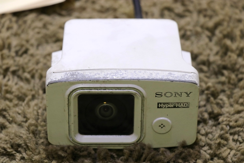 USED SSC-530AM SONY BLACK AND WHITE MOTORHOME OUTDOOR CAMERA FOR SALE RV Electronics