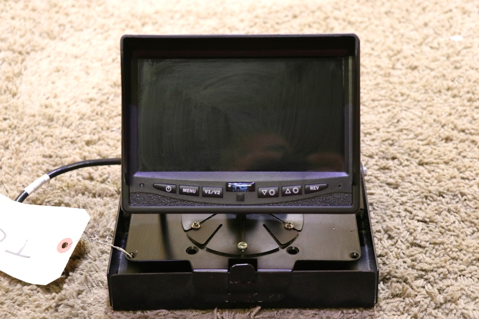 USED MOTORHOME RVS SYSTEMS 7 INCH TFT LCD COLOR MONITOR RV PARTS FOR SALE RV Electronics
