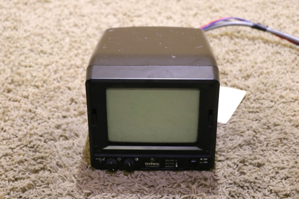 USED RV INTEC CAR VISION CVM600 MONITOR FOR SALE RV Electronics