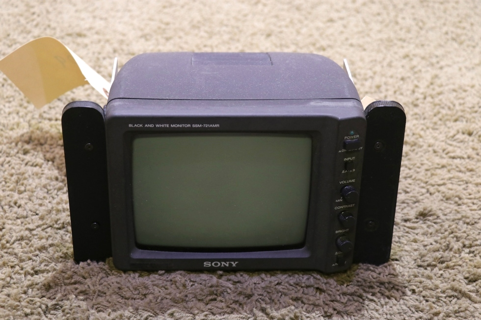 SSM-721AMR SONY BLACK AND WHITE USED RV REAR VIEW MONITOR FOR SALE RV Electronics