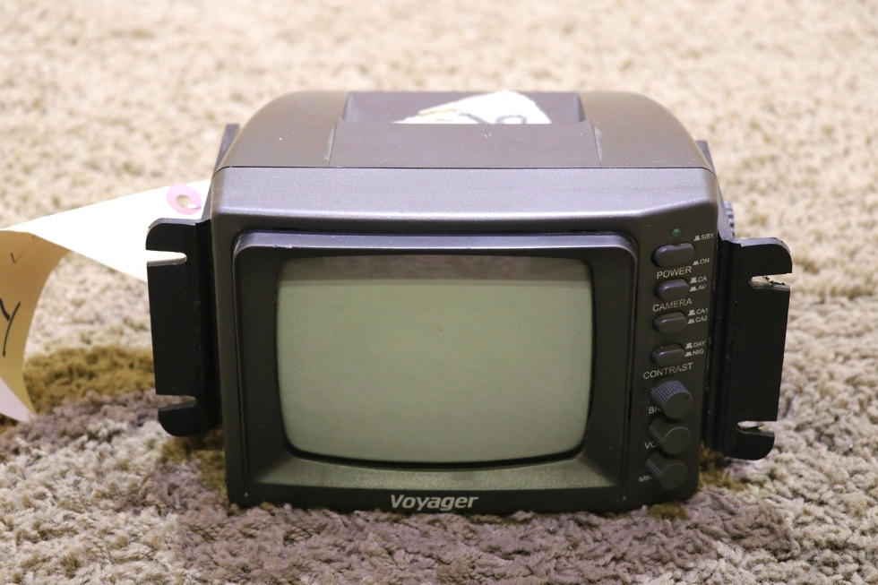 USED VOYAGER 5.5 INCH B/W VOM-55 MONITOR MOTORHOME PARTS FOR SALE RV Electronics