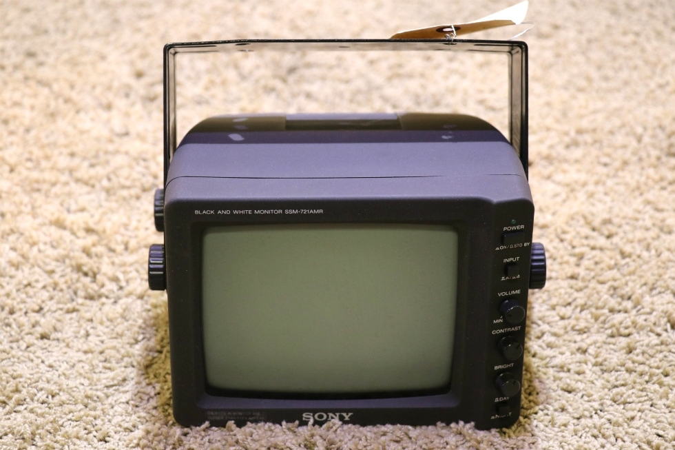 USED SONY SSM-721AMR BLACK AND WHITE MONITOR RV PARTS FOR SALE RV Electronics