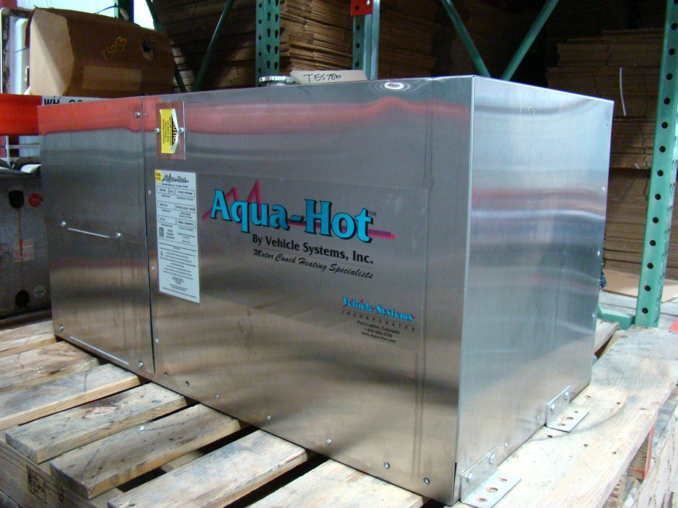 AQUA HOT HEATING SYSTEM AHE-100 04S FOR SALE USED - VISONE RV RV Appliances