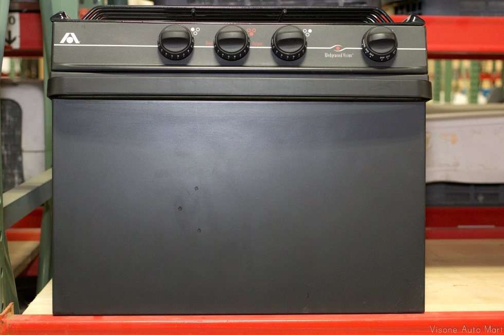 RV Appliances USED RV/MOTORHOME ATWOOD BLACK RANGE OVEN - 3