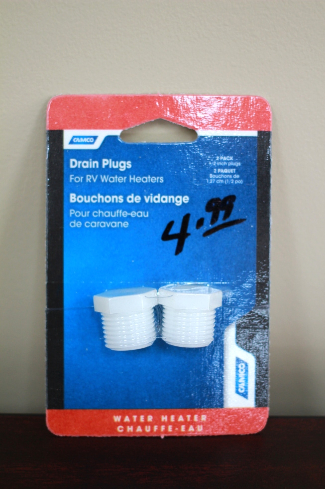 NEW RV/MOTORHOME CAMCO DRAIN PLUGS - 2 PACK 1/2 PN: 11630 RV Appliances