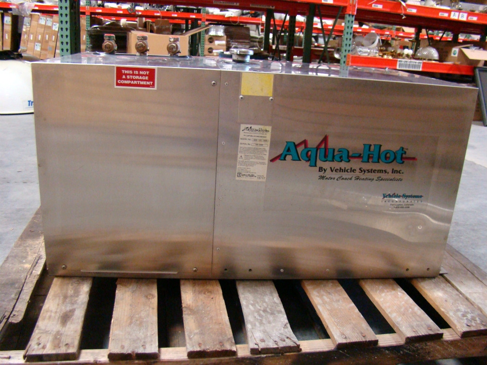 AQUA HOT  AHE-100-000 BY VEHICLE SYSTEMS FOR SALE - USED CALL VISONE RV 606-843-9889 RV Appliances