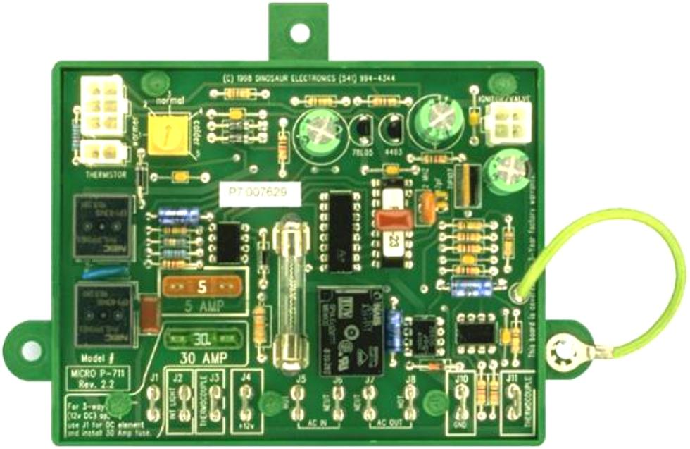 NEW RV/MOTORHOME MICRO P-711 CIRCUIT BOARD RV Appliances