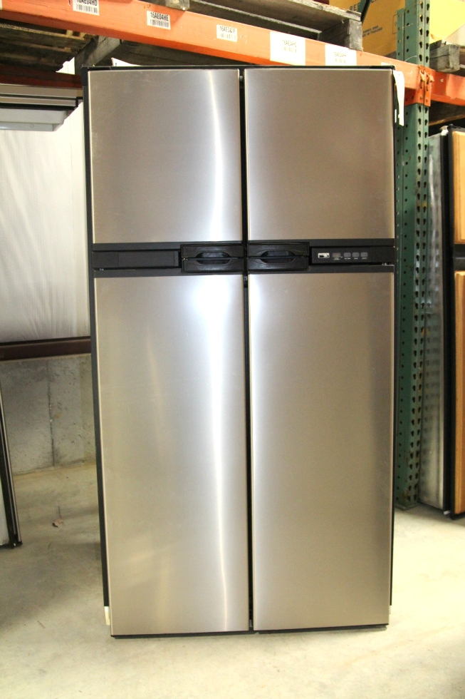 USED NORCOLD STAINLESS STEEL REFRIGERATOR MODEL: 1210IMSS SN: 10012523 RV Appliances