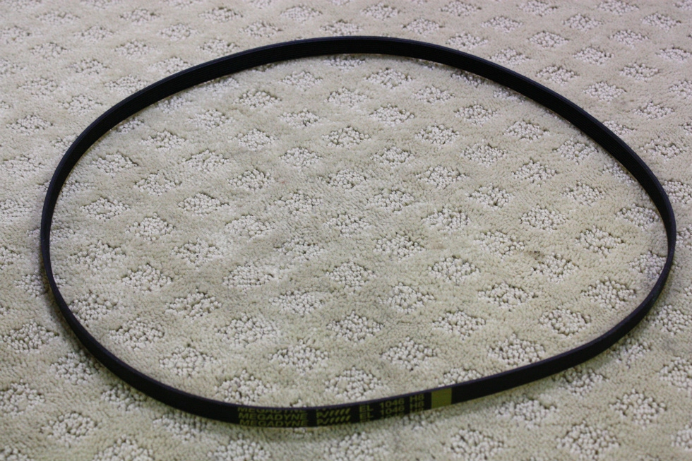 USED SPLENDIDE 2000S DRIVE BELT EL 1046 H8 FOR SALE RV Appliances