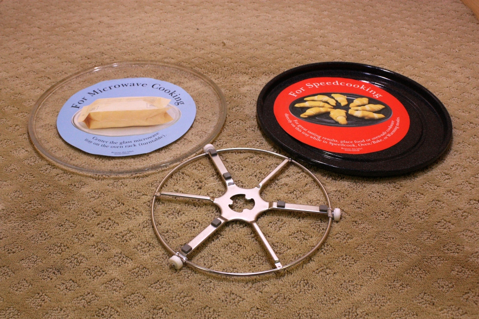 MICROWAVE TURNTABLE SET FOR SALE RV Appliances