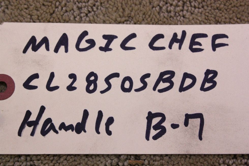 MAGIC CHEF CLZ8505BDB HANDLE FOR SALE RV Appliances