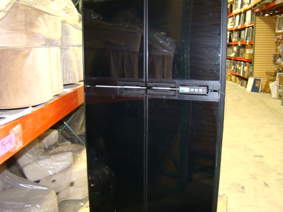 USED RV/MOTORHOME NORCOLD REFRIGERATOR 1200LRIM (BLACK) FOR SALE RV Appliances