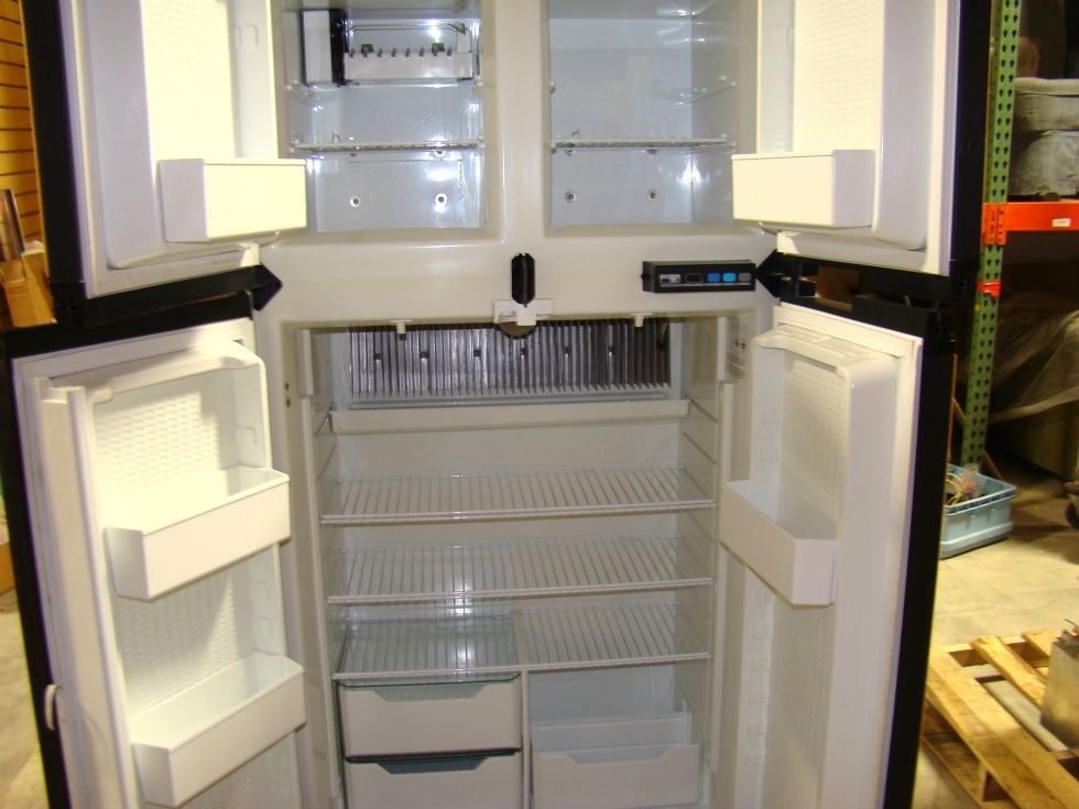 USED NORCOLD 1200 LRIM WOOD PANEL REFRIGERATOR FOR SALE RV Appliances