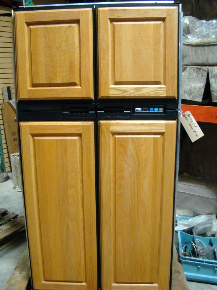 USED RV/MOTORHOME NORCOLD 1200LRIM (WOOD PANEL) REFRIGERATOR RV Appliances