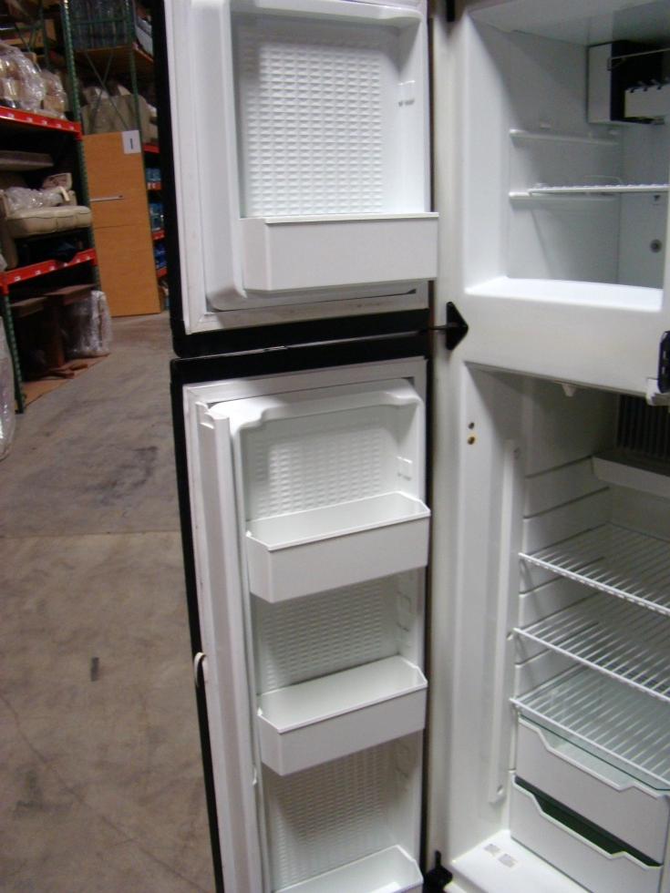 USED RV MOTORHOME REFRIGERATOR | NORCOLD 1200LRIM (WOOD PANEL)  REFRIGERATOR RV Appliances