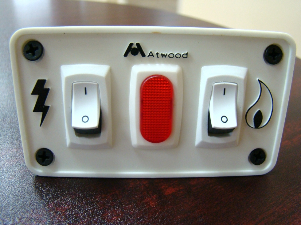 NEW RV/MOTORHOME ATWOOD WATER HEATER SWITCH PANEL RV Appliances