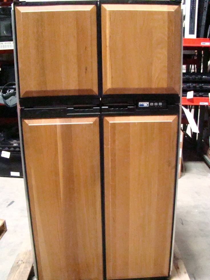 USED RV MOTORHOME NORCOLD REFRIGERATOR  FOR SALE | 1200 LRIM REFRIGERATOR (WOOD PANELS) RV Appliances