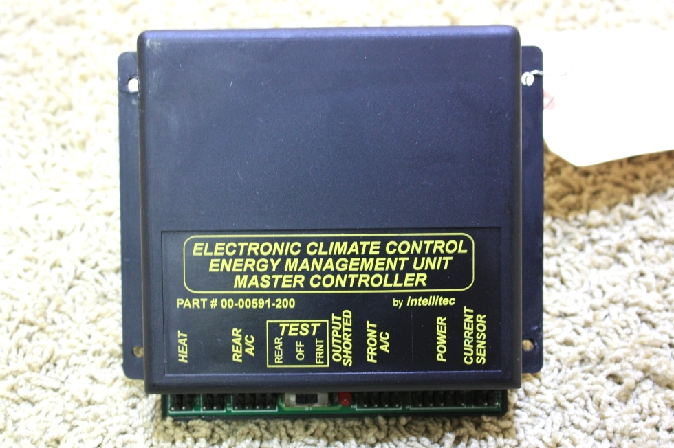 USED ELECTRONIC CLIMATE CONTROL MANAGEMENT UNIT MASTER CONTROLLER 00-00591-200 FOR SALE RV Appliances