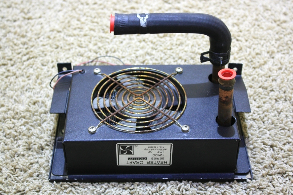 USED AQUA HOT HEATER CRAFT FAN SERIES 07011177 FOR SALE RV Appliances