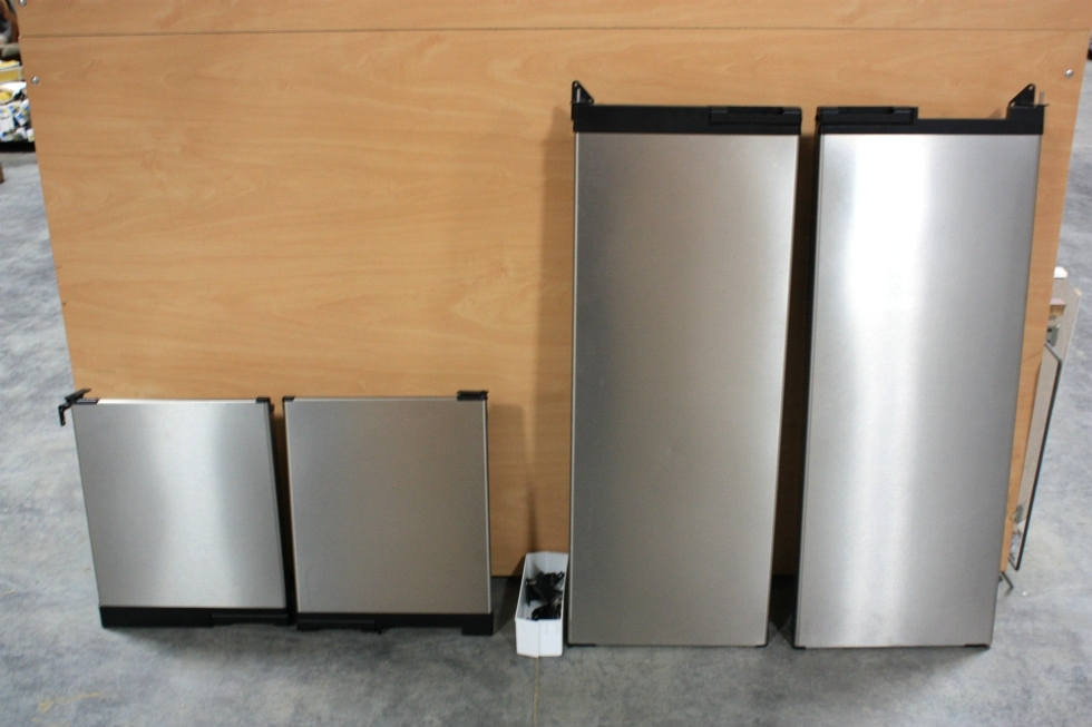 USED RV NORCOLD 1200LRIM STAINLESS REFRIGERATOR DOORS FOR SALE RV Appliances