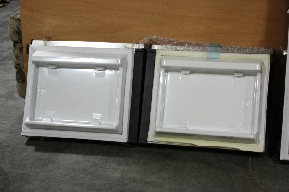 RV DOMETIC ELITE 2+2 STAINLESS REPLACEMENT REFRIGERATOR DOORS FOR SALE RV Appliances