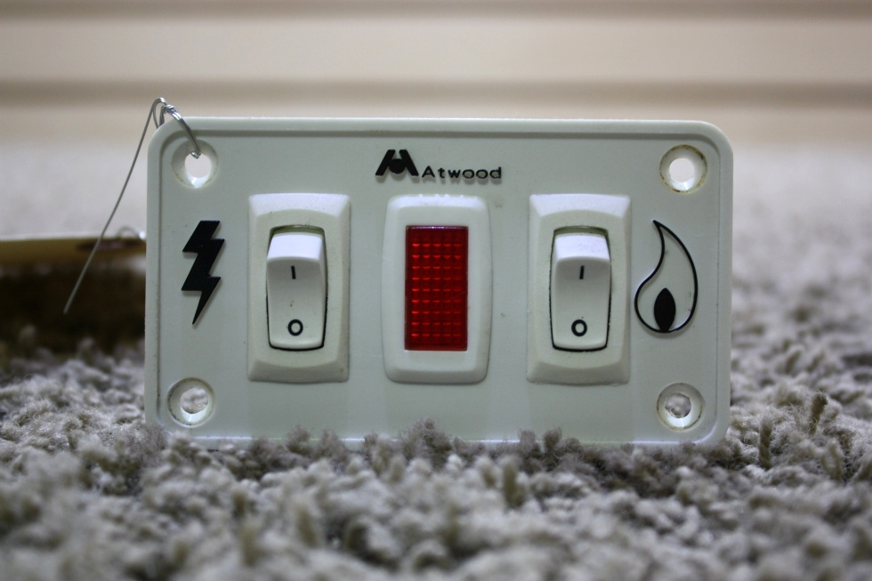 USED MOTORHOME ATWOOD WATER HEATER SWITCH PANEL FOR SALE RV Appliances