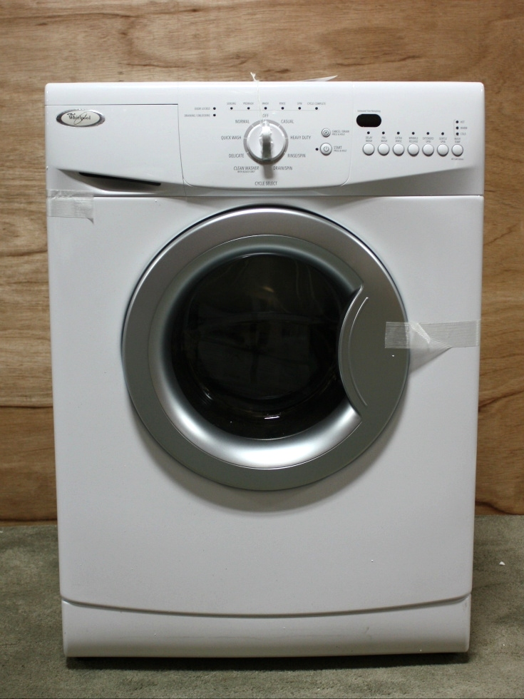 MOTORHOME APPLIANCE WHIRLPOOL STACKABLE WASHER FOR SALE RV Appliances