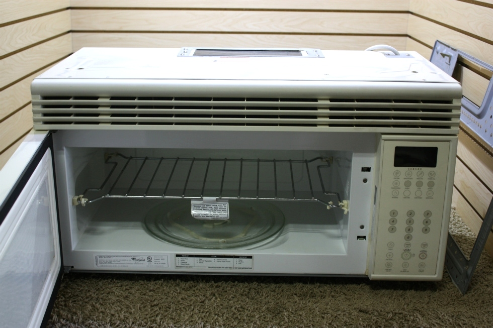 USED RV WHIRLPOOL MICROWAVE OVEN MH2155XPT-1 FOR SALE RV Appliances