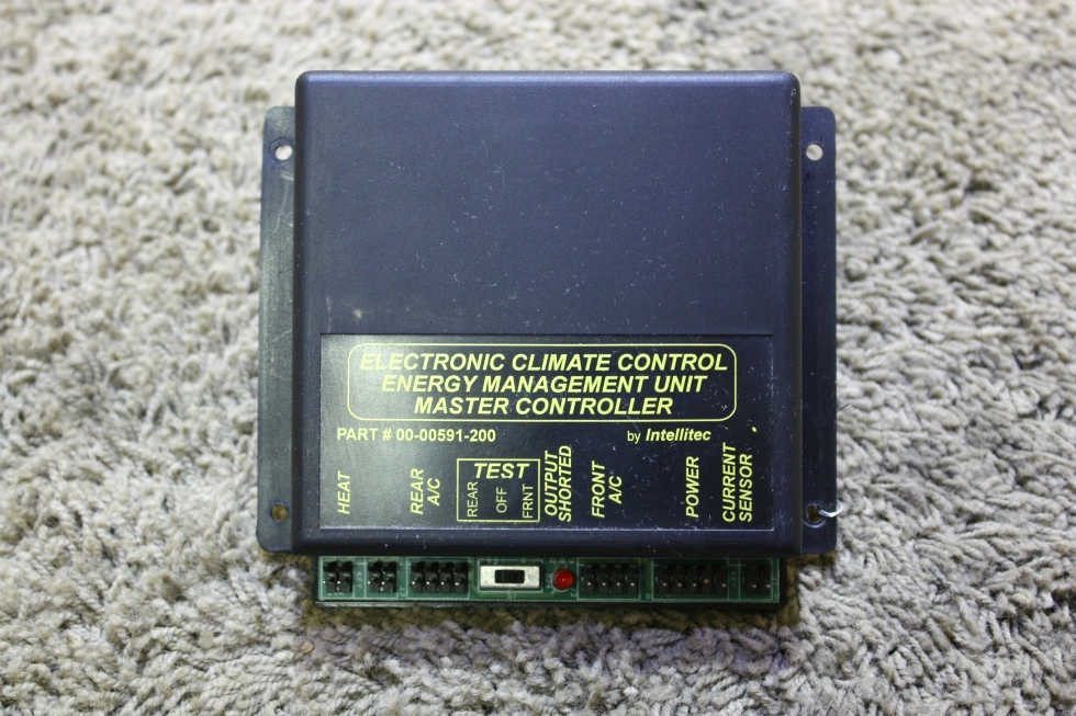 USED RV ELECTRONIC CLIMATE CONTROL ENERGY MANAGEMENT UNIT MASTER CONTROLLER BY INTELLITEC FOR SALE RV Appliances