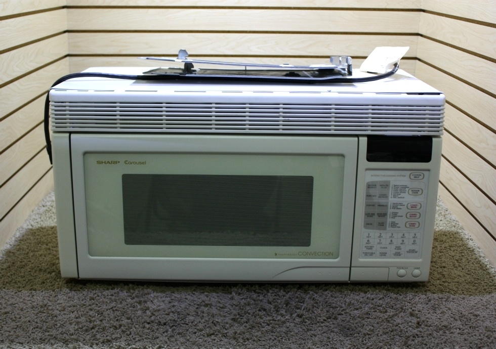 USED RV SHARP CAROUSEL CONVECTION MICROWAVE R-1851A FOR SALE RV Appliances