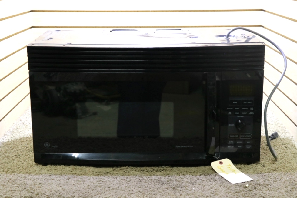 USED MOTORHOME GENERAL ELECTRIC / GE MICROWAVE CONVECTION OVEN JVM1490BD 003 FOR SALE RV Appliances