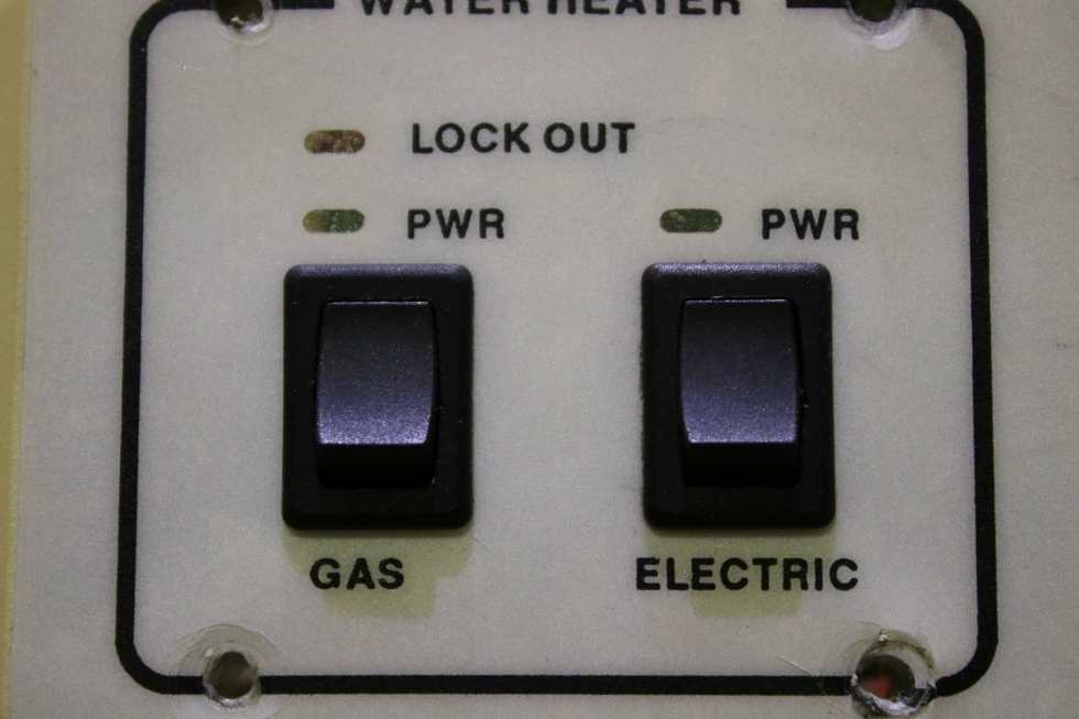 USED RV WATER HEATER SWITCH PANEL FOR SALE RV Appliances