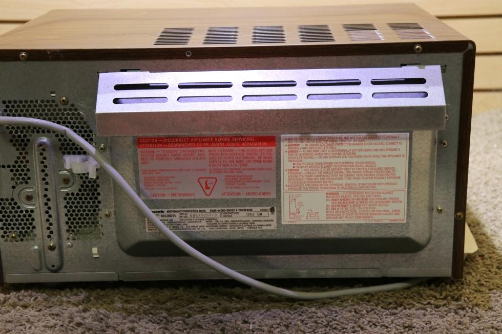 Rv Appliances Used Motorhome Nn 8501v Panasonic Dimension 4