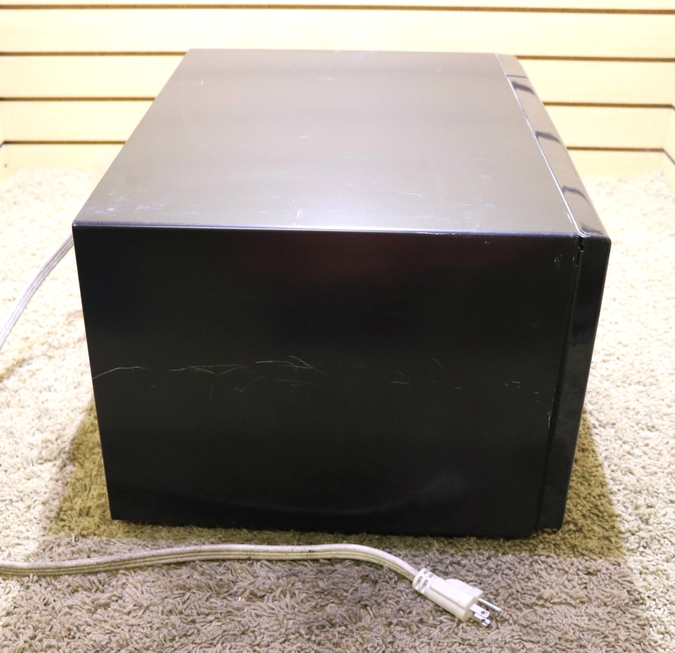 USED BLACK R-403KK-T MOTORHOME SHARP CAROUSEL MICROWAVE OVEN RV PARTS FOR SALE RV Appliances