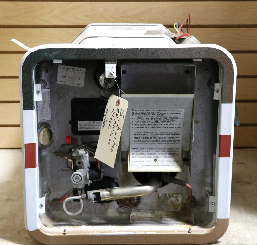 Suburban Gas Water Heater Parts