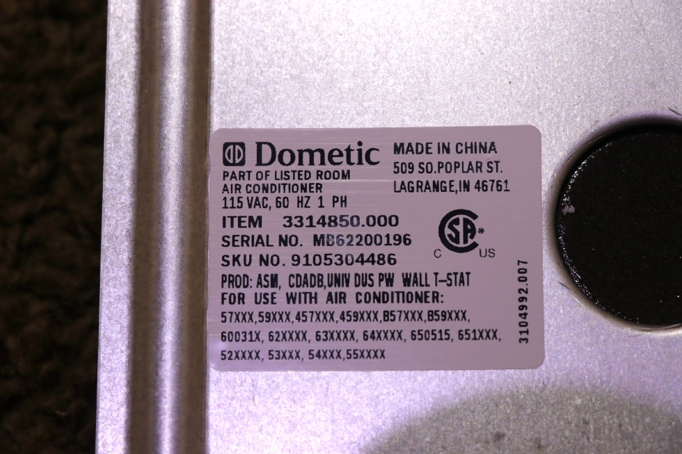 3314850.000 DOMETIC RV UNIVERSAL AIR DISTRIBUTION BOX MOTORHOME PARTS FOR SALE RV Appliances