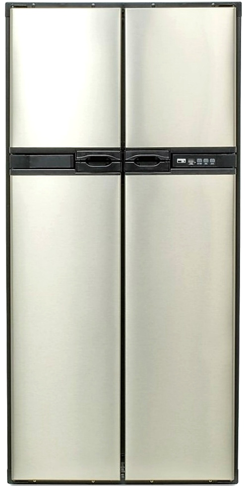 NEW 1210IMSS NORCOLD STAINLESS STEEL FOUR DOOR REFRIGERATOR WITH ICE MAKER RV APPLIANCES FOR SALE RV Appliances