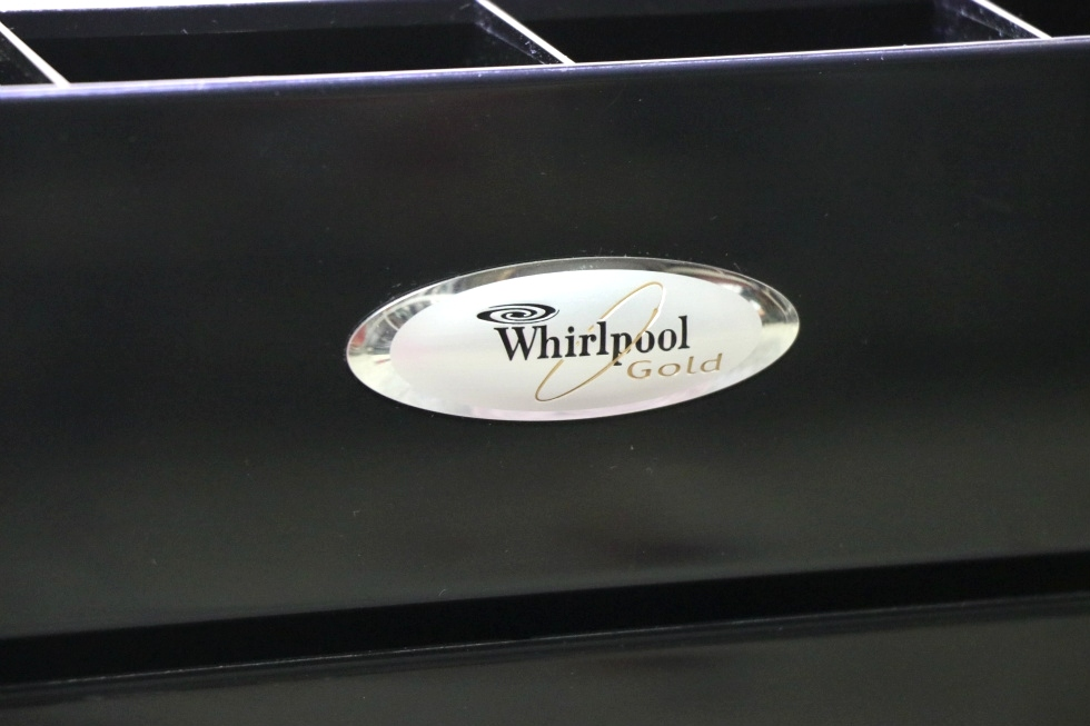 USED MOTORHOME WHIRLPOOL GMH6185XVB-1 BLACK MICROWAVE CONVECTION OVEN RV APPLIANCES FOR SALE RV Appliances
