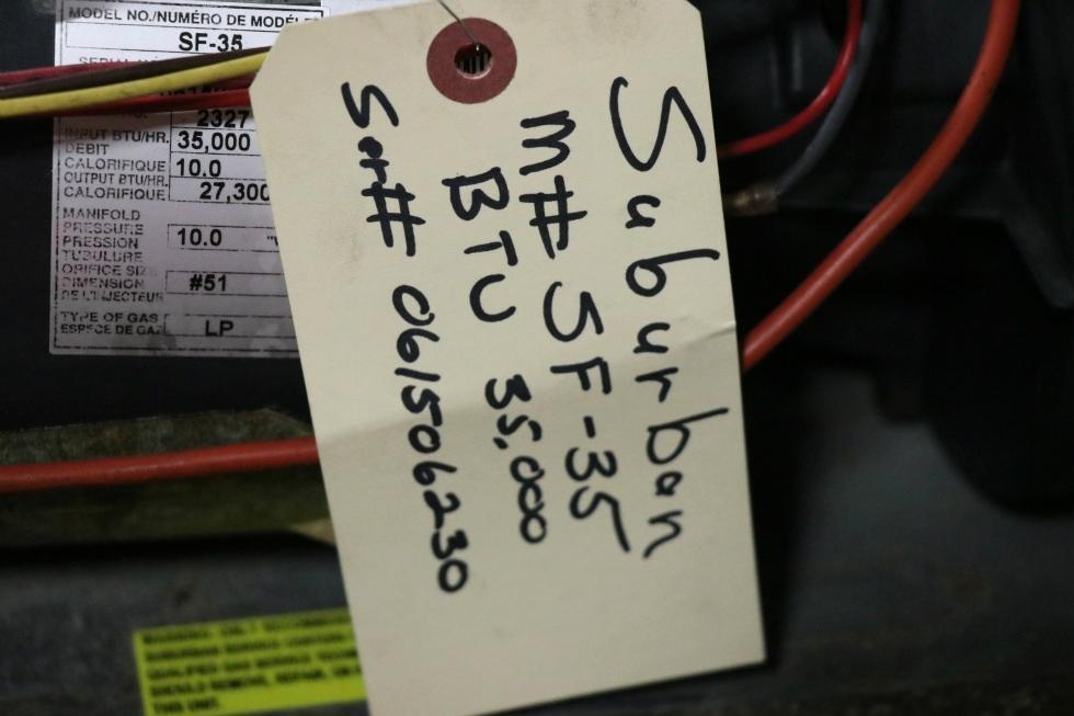 USED RV SF-35 SUBURBAN FURNACE FOR SALE RV Appliances