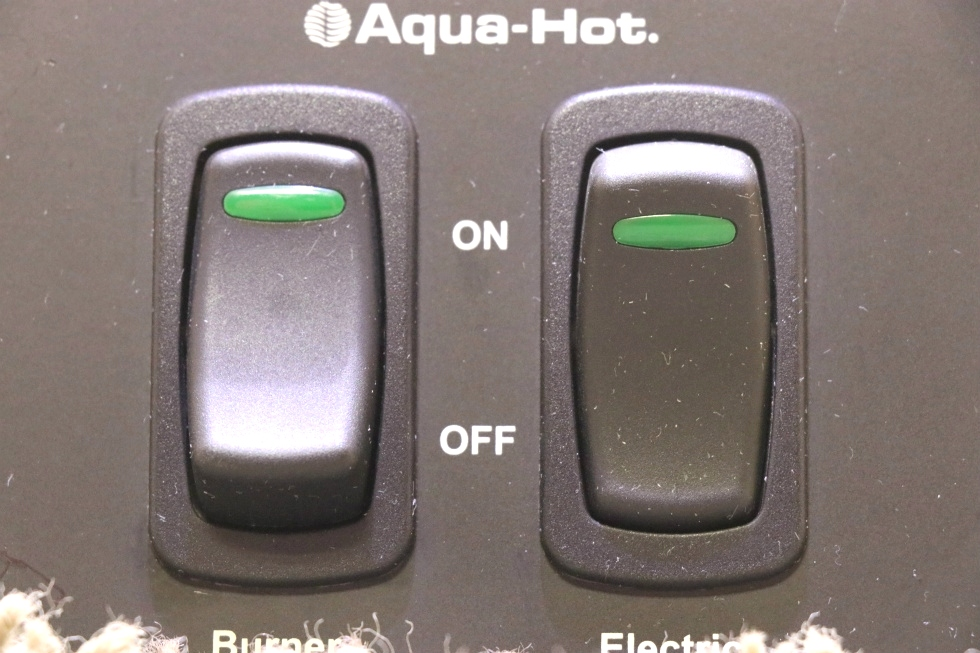 USED AQUA-HOT 2 SWITCH PANEL RV PARTS FOR SALE RV Appliances