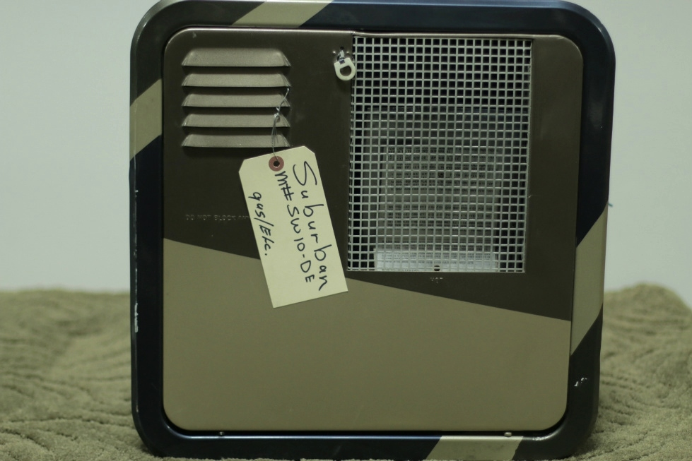USED SUBURBAN WATER HEATER SW10-DE RV/MOTORHOME FOR SALE RV Appliances
