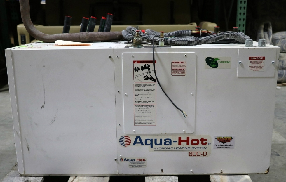 USED MOTORHOME AQUA-HOT 600-D AHE-600-D03 HEATING SYSTEM FOR SALE RV Appliances
