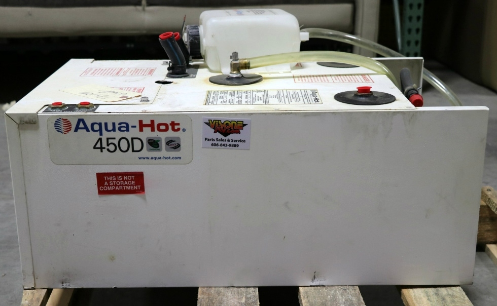 USED AHE-450-DE4 RV AQUA-HOT 450D HYDRONIC HEATING SYSTEM FOR SALE RV Appliances