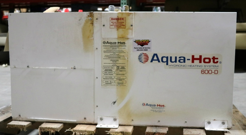 USED AQUA-HOT 600-D MOTORHOME AHE-600-D01 HYDRONIC HEATING SYSTEM FOR SALE RV Appliances