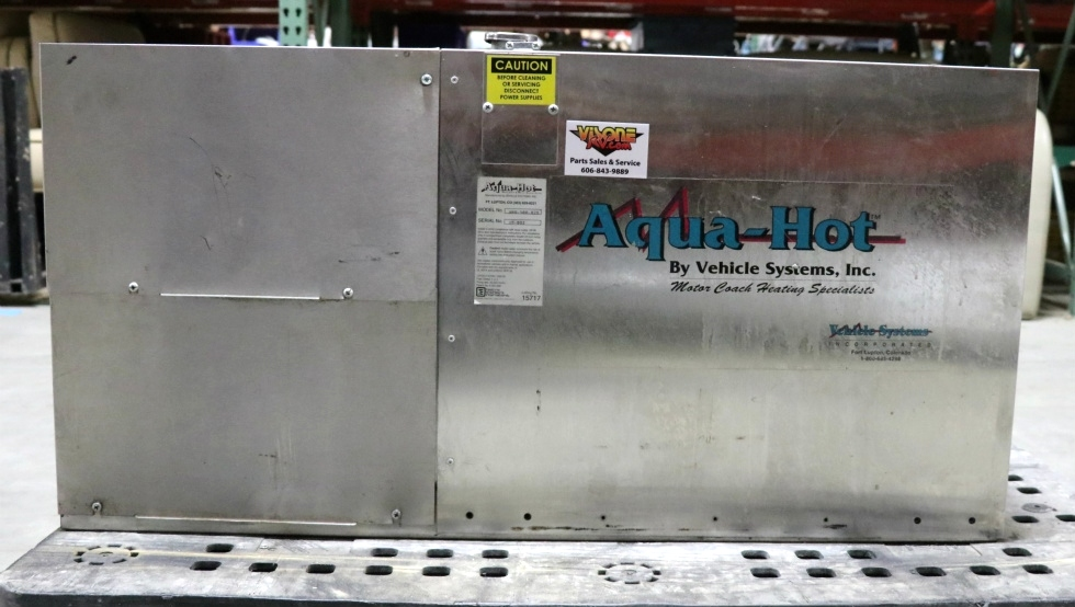 USED AHU-100-02S AQUA-HOT MOTOR COACH & MARINE HEATING SYSTEM FOR SALE RV Appliances