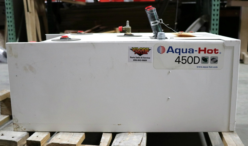 USED AQUA-HOT 450D RV HEATING SYSTEM AHE-450-DE4 FOR SALE RV Appliances