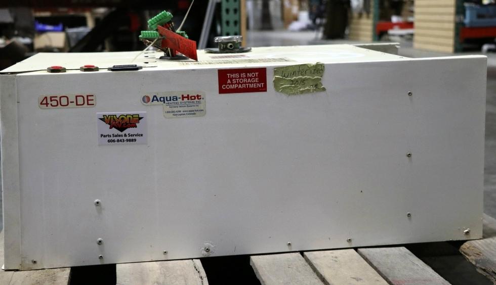 USED HYDRONIC HEATING SYSTEMS MOTORHOME AHE-450-DE1 AQUA-HOT 450-DE FOR SALE RV Appliances