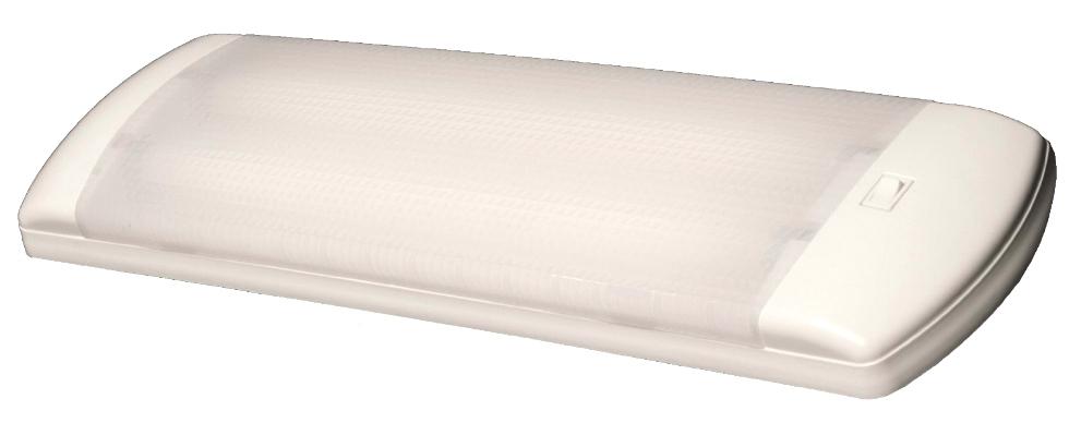 NEW ARCON 30 WATT 12 VOLT SLEEK  EUROSTYLE FLOURESCENT INTERIOR LIGHT PN: 13813 RV Interiors