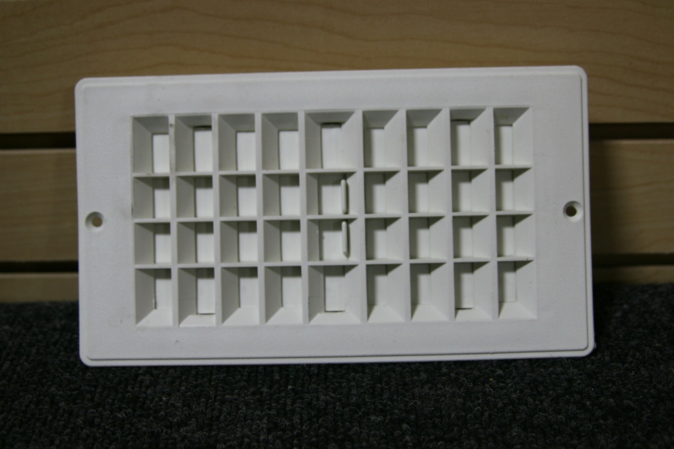 RV/MOTORHOME WHITE FLOOR OR CEILING VENT SIZE: 9-3/16 X 5-3/16 *OUT OF STOCK* RV Interiors